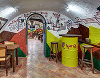 Tsypa Craft Pub - Rakhov, Ukraine (interior renovation)