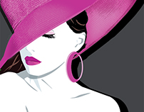Lady in the Pink Hat