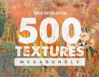 500 HD Textures Megabundle