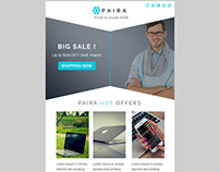E-mail Template Download Free PSD