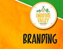 Smoothie Valley Branding