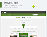 Tennis Court Booking App