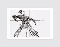 Tinta china estilografo