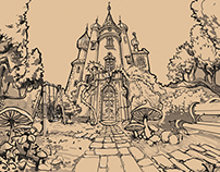 Fantasy Adventure with elements of magic