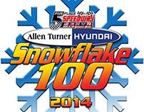 2014 Allen Turner Snowflake 100 Shirt Design