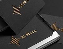 21 Music - Logotype
