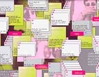 Experiencia interactiva de información