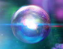 Atoms-Concept Art for the National Space Centre