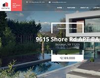 Estate - Property Sales & Rental Theme