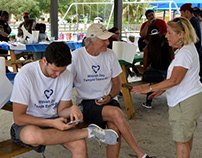 Volunteer from Temple Emanu-El
