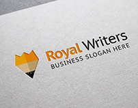 Royal Writers Logo Template