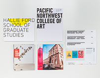 Pacific Northwest College of Art Viewbooks + Posters
