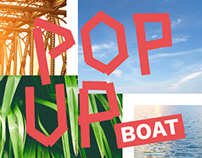 POP UP BOAT RESPONSIVE WEBSITE, ONEPAGER