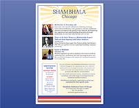 Shambhala Chicago Digital Email Template