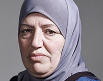 Asylum Seekers from Syria for LINDA. magazine