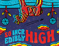 SO HIGH / Stamp Design - LSD Trip Contest