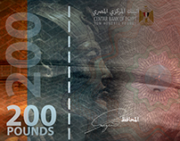 Two Hundred Egyptian Pounds.