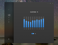 Windows 10 Fluent Design Sound App Concept