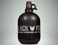Black Fox Brewing Company of Texas Logo