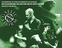 Gaelic Storm Concert Promotional Materials