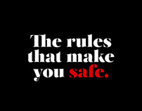 The rules that make you safe.