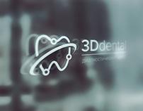 Лого и сайт для центра 3D Dental