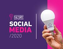 Light Technology Factory / Social Media