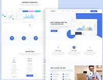 AppRoxi App Landing Page