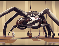 NASA - Multi-terrain vehicle, the 'Spider'