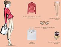 Fashion Illustration for brand