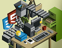 Web Development Illustrations