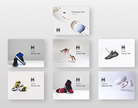 Apparel Presentation Template Design