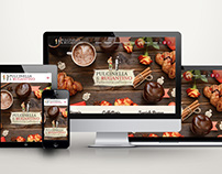 Pulcinella&Rugantino website and promotional items
