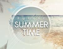 Future Summer - PSD Flyer Template