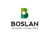 Identidad corporativa BOSLAN