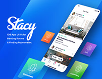 Stacy - UI Kit for Renting Rooms & Finding Roommates