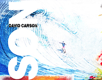 David Carson Show Flyer