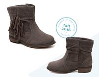 Girls' Private Label Shoe Design