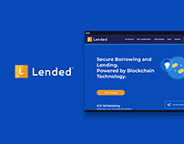 Lended - Peer2Peer Cryptocurrency Lending Platform