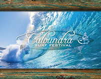 Caloundra Surf Festival - Cinema Presentation Elements