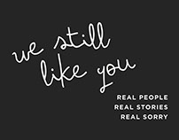 We Still Like You: A Storytelling Show Poster