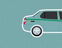 MERU CAB - Ad Campaign