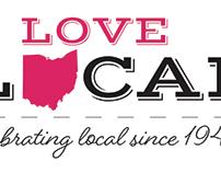 Love Local Logo for Dorothy Lane Market