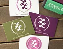 Dee's Lavender Lounge, Logo design