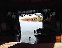 Helsö boat houses