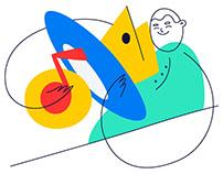 Yandex   illustration 2017   Sketches