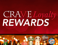 "CRAVE ""Loyalty Program"" Digital Campaign"