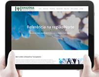 Amazônia Transplantes - Site médico