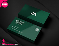 Company Bussiness card PSD Template