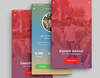 Danix App - Profile Page